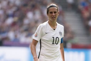 """USWNT Victory Tour game in Hawaii cancelled over field conditions. Voicing her discontent with the situation Alex Morgan said, """"no one's really going to protect us but ourselves."""" Photo by Ann-Marie Sorvin of USA Today Sports."""