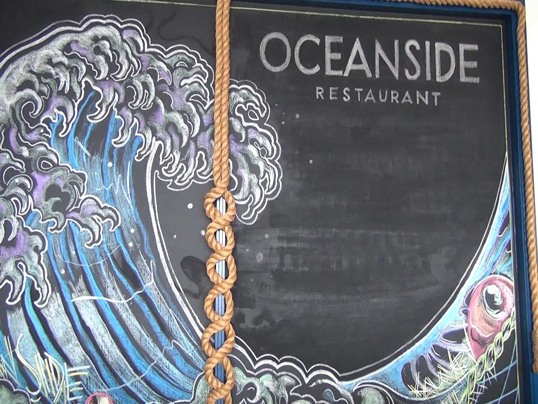 Artwork at Oceanside in Māʻalaea. Photo by Kiaora Bohlool.