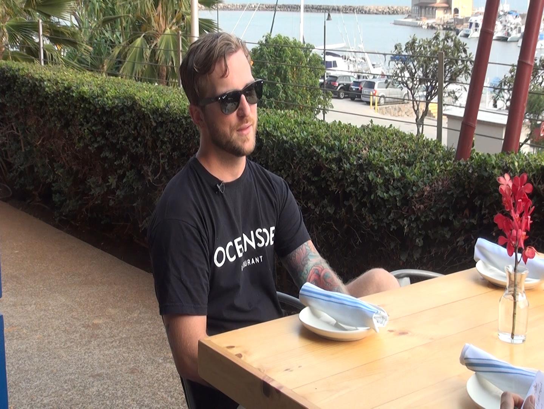 Oceanside executive chef/ owner Gary King. Photo by Kiaora Bohlool.