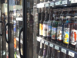Craft beers at Island Grocery Depot in Lahaina. Photo by Kiaora Bohlool.