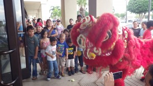 Piʻilani Village Shopping Center, Chinese New Year.