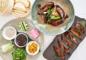 Chinese New Year Duck at Spago. Photo courtesy of Wolfgang Puck Fine Dining Group.