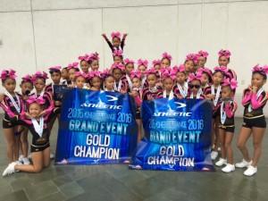 Maui Cheer Babes Youth All-Star Cheerleading, Fab 1 and Fierce 2 teams. Courtesy photo.