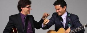 Frank Vignola and Vinny Raniolo. Photo courtesy The MACC.