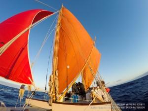 Hokulea photo courtesy of Polynesian Voyaging Society.