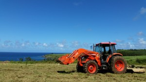 Kubota lawnmower with Country Excavation. Courtesy photo.