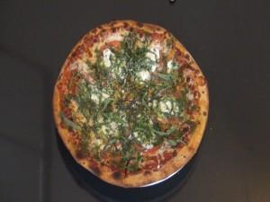 Margherita Pizza with fresh basil. Photo by Kiaora Bohlool.