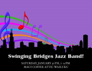 Swinging Bridges Jazz Band, courtesy image.