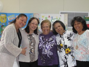 Pictured left to right: Kuulei Akahi, Stella Souki, Shanamie Morondos, Marlene Waikiki, Marjorie Laborte. Not pictured: Cassie Ale. Courtesy photo.