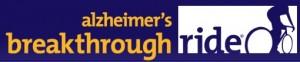 Alzheimer's breakthrough ride event logo. Courtesy image.