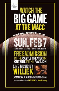 football superbowl the macc willie k