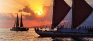 Hikianalia. Photo credit: Polynesian Voyaging Society.