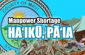 Haʻikū/Pāʻia trash route missed. Maui Now graphic.