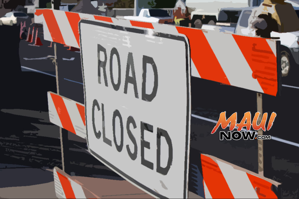 Lane Closures Scheduled for Hana Highway