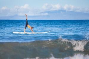 Enjoy SUP Yoga at Four Seasons Resort Maui. PRNewsFoto/Four Seasons Resort Maui.
