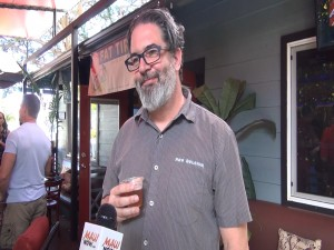 Jamie Mastin, one of the original beer brewers with New Belgium Brewing Company. Photo by Kiaora Bohlool.
