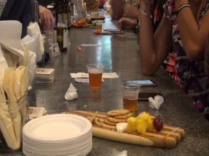 Beer and food at What Ales You in Kihei. Photo by Kiaora Bohlool.
