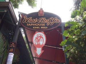What Ales You in Kihei held a launch party, celebrating Fat Tire on draft. Photo by Kiaora Bohlool.