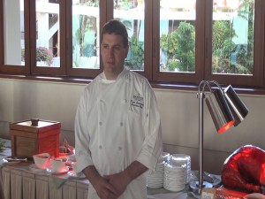 Executive Chef Kurt Lesmerises at Mākena Beach & Golf Resort. Photo by Kiaora Bohlool.