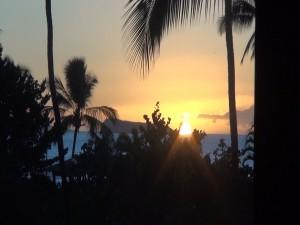 Sunset at Mākena Beach & Golf Resort. Photo by Kiaora Bohlool.