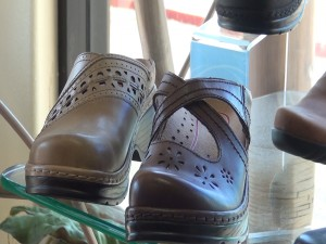 Supportive shoes at Island Feet. Photo by Kiaora Bohlool.