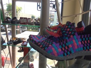 Shoes at Island Feet in Kahului. Photo by Kiaora Bohlool.