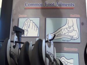Common foot ailments. Photo by Kiaora Bohlool.