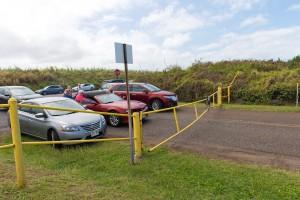 Hoʻokipa Beach Park closed due to hazardous surf of 20 to 30 feet. Monday, Feb. 22, 2016. Photos credit: Ryan Piros / Maui county.