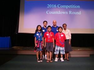 5th grade: Emily Tom (Pōmaikaʻi Elementary School); CJ Tamayose (Pukalani Elementary School); Checed Dominquil (Kahului Elementary School)