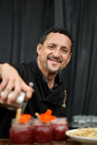 Master Mixologist Manny Hinojosa will craft the cocktails on both nights of the James Beard Foundation Celebrity Chef Tour. Photo courtesy of Grand Wailea.