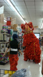Chinese New Year at the Queen Kaʻahumanu Center. File photo by Wendy Osher.