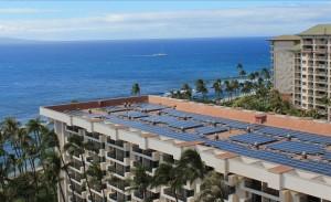 Hyatt Regency Maui PV system. Courtesy photo.