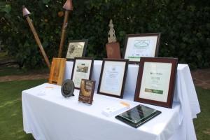 Hyatt awards, courtesy photo.