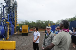 Joint Base Pearl Harbor-Hickam: demonstration site of a new $6.8 million renewable and clean, waste to energy generating system.