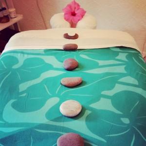 Jewel Spa & Salon massage table. JSS photo.
