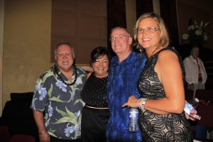 Joe Hawkins, Jaime Brown, Bruce McDonald and Maria Isotov at RAM's Got Talent.
