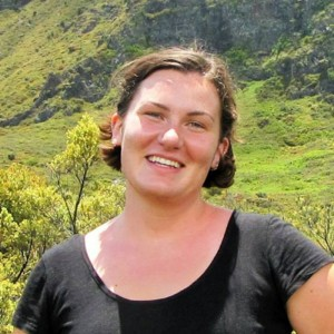 Intern Kate Cheney, a junior at UH Maui College.