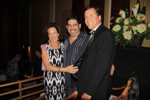 Realtors Linda Morgan, Ron Silva and Patrick Kilbride at RAM's Got Talent.
