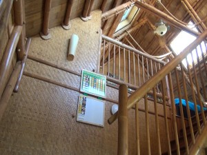 One of two lofts in the bamboo house in Ukumehame, bought by MHOK. Courtesy photo.
