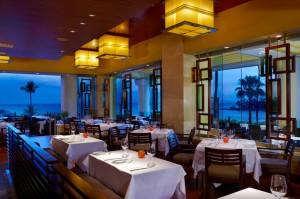 Main Dining Room at Spago Maui. Courtesy photo.