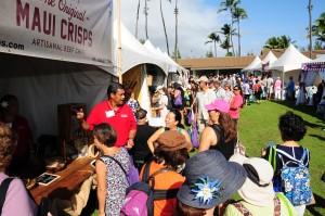 Made in Maui County Festival. Photo courtesy County of Maui.
