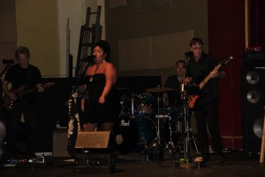 Natalie Nicole Band at RAM's Got Talent.