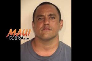 Brandon Oania. Photo credit: Maui Police Department.