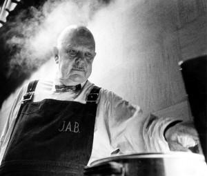 Renowned chef James Beard. Photo by Ken Steinhoff.