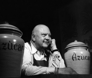 Chef James Beard, who inspired the James Beard Foundation. Photo by Paul Child.