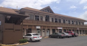 Printhouse Maui is located on the second floor above 7 pools hostess bar in Wailuku.