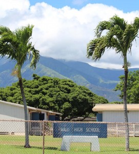 Maui High School. Photo by Wendy Osher.