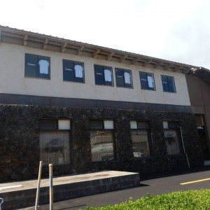 Printhouse Maui is located on the second floor above 7 pools hostess bar in Wailuku. During the second break-in, the suspect(s) used a ladder to climb into a second story window.