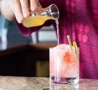 Cocktail at Fairmont Kea Lani's lobby bar, Luana. Courtesy photo.