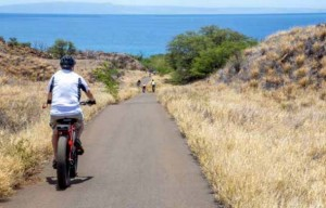 Proposed West Maui Greenway. Photo credit: Maui Bicycling League.